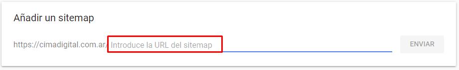 enviar sitemap a google