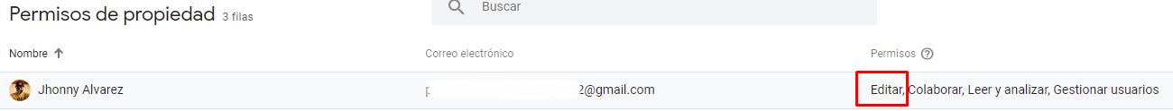 verificacion consola de google con Analytics