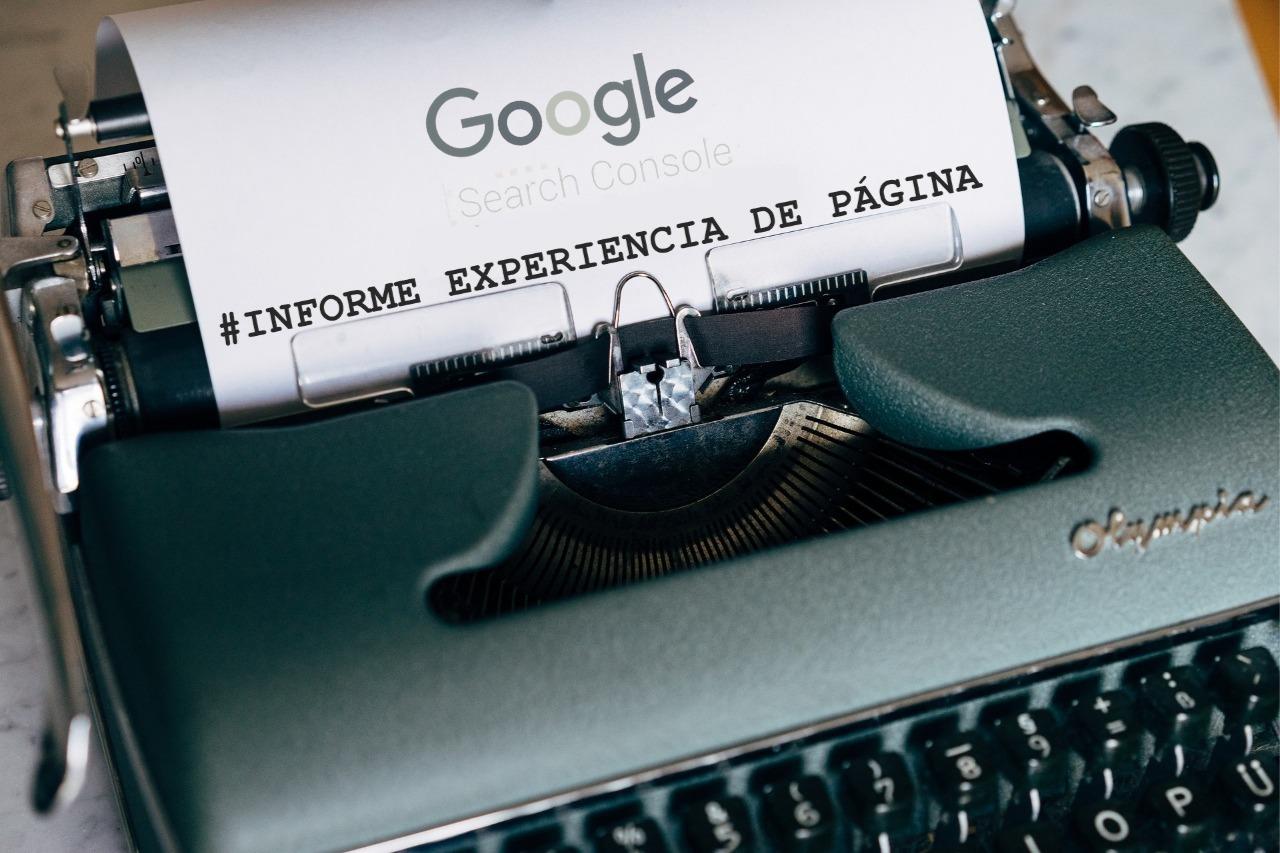 Informe de Experiencia de página Google Search Console