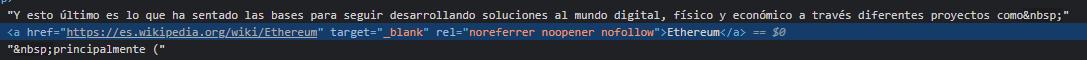 ejemplo de wordpress atributos enlaces externos